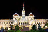 Scenic view of the Ho Chi Minh City Hall in Saigon — Stock Photo