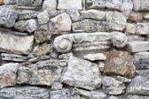 鹅卵石墙 — 图库照片