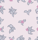 Cute flower vintage seamless background — 图库矢量图片
