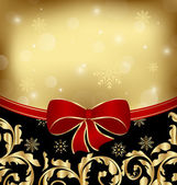 Christmas holiday ornamental decoration for design packing — 图库矢量图片