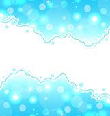 Cartão abstrato água, papel de parede mar — Vetorial Stock