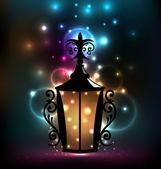 Smeden lantaarn voor ramadan kareem — Stockvector