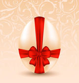 Easter celebration background with traditional egg — 图库矢量图片