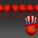 American Basketball. — Stock Photo