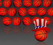 American Basketball. — Stock Photo