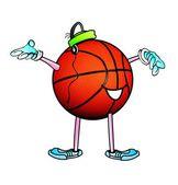 Uomo di basket. — Foto Stock