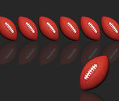 Footballs. — Stock Photo