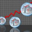 Home Sales. — Stock Photo