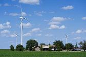 Wind Turbines. — Zdjęcie stockowe