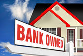 Bank Owned Foreclosure. — Stock Photo