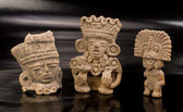 Pre Columbian Warriors. — Stock Photo