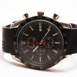 Black Tachymeter wrist watch — ストック写真 #1784829