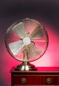 Old Style Fan. — Stock Photo