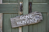 Gone Hunting. — Stock Photo