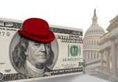 Funny hats of Washington D.C. — Stock Photo