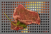 T-Bone Steak. — Stock Photo