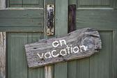 On vacation. — Stock Photo