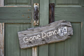 Gone Dancing. — Stock Photo