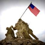 Iwo Jima Statue. — Stock Photo #31863363