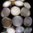 Stock Photo: Canned Food.