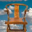 Antique Chinese Folding Chair. — Stock Photo #33361783
