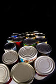Tin Cans. — Foto de Stock
