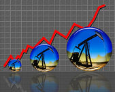 High Oil Prices. — Stock Photo