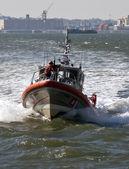 沿岸警備隊の船. — ストック写真