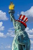 Statue of Liberty. — Стоковое фото