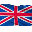 United Kingdom Flag. — Stock Photo