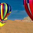 Stock Photo: Hot Air Balloons.