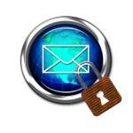 E-Mail Safe. — Stock Photo