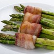 Asparagus Wraped in Bacon. — Fotografia Stock  #41590003