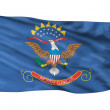 North Dakota Flag. — Stock Photo