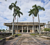Hawaii State Capital Building. — Stockfoto