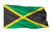 Jamaica Flag. — Stock Photo