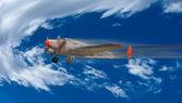 Old Navy propeller plane. — Foto Stock
