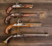 Flintlock Pistols. — Stock Photo
