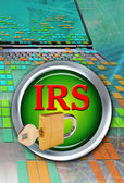 IRS Computers. — Stock Photo