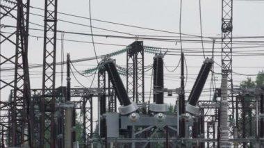 Sub kraftverk — Stockvideo