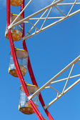 Some cabins at Ferris Wheel — Stock Photo