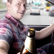 Drunk driver — Stock Photo #14747955