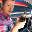 Drunk driver — Stock Photo