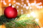 Xmas climate picture — Stock Photo