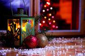 Climate decor - christmas — Stock Photo
