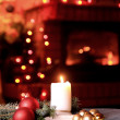 Christmas mood and family atmosphere — Stock Photo