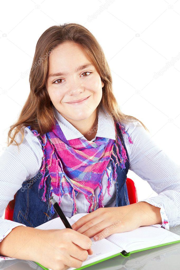 девушка в белом домашнее фото
