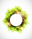 Abstact primavera verde — Foto de Stock