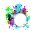 Abstract splash background — Stock Photo