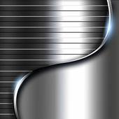 Metalowe ciemnym tle — Zdjęcie stockowe